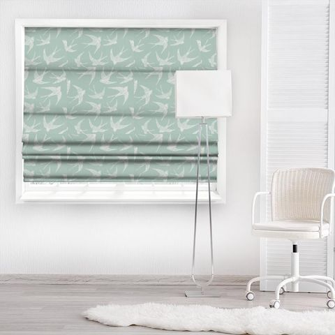 Fly Away Mineral Made To Measure Roman Blind