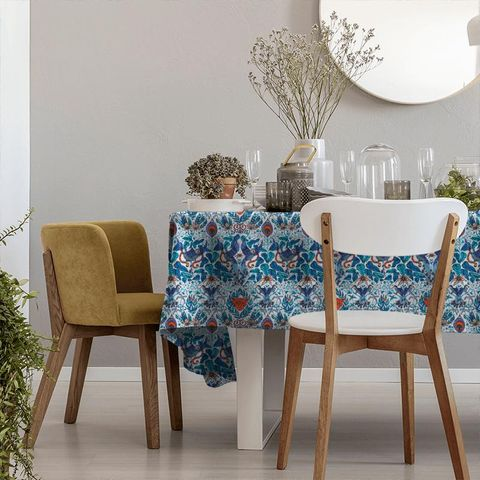 Amazon Blue Tablecloth