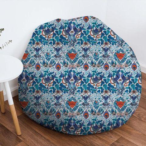 Amazon Blue Bean Bag