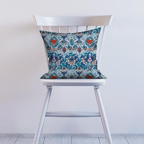 Amazon Blue Cushion
