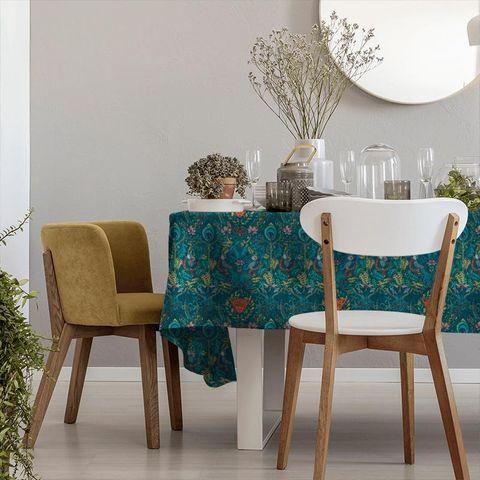Amazon Navy Tablecloth