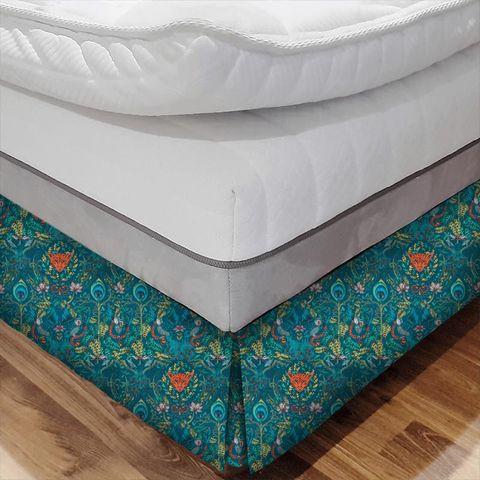 Amazon Navy Bed Base Valance