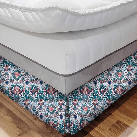 Amazon Pink Bed Base Valance