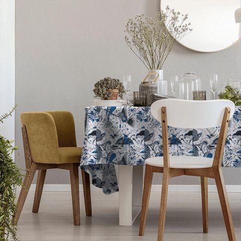 Audubon Blue Tablecloth
