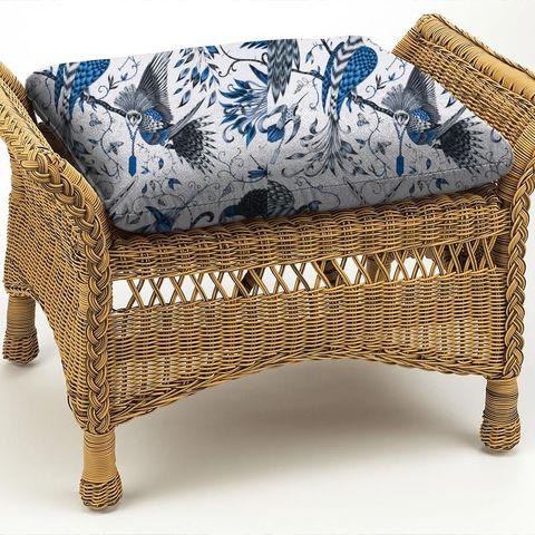 Audubon Blue Box Cushion