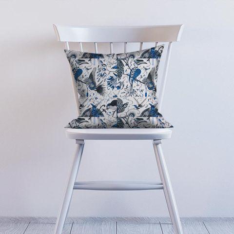 Audubon Blue Cushion