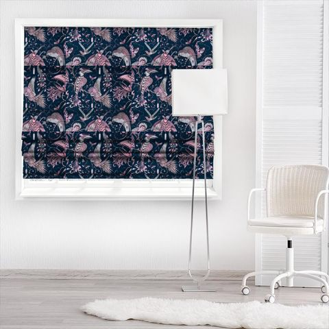 Audubon Pink Made To Measure Roman Blind