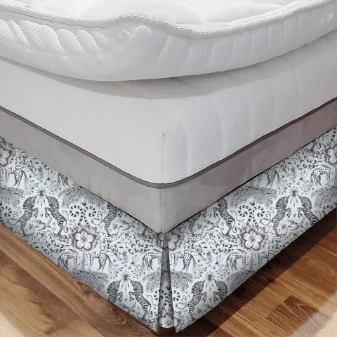 Kruger Eggshell Bed Base Valance