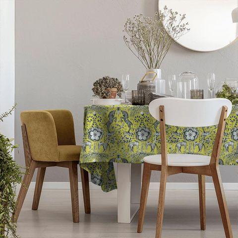 Kruger Lime Tablecloth