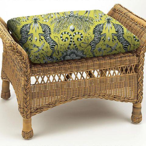 Kruger Lime Box Cushion