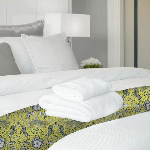 Kruger Lime Bed Runner