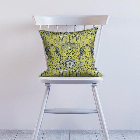 Kruger Lime Cushion