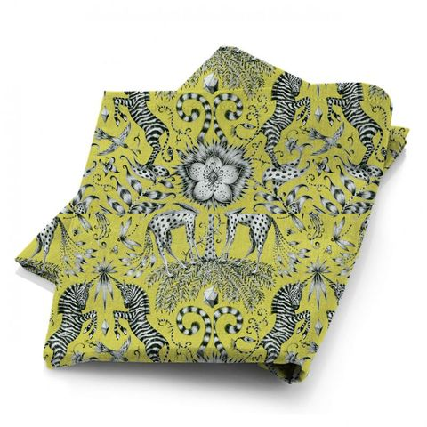 Kruger Lime Fabric