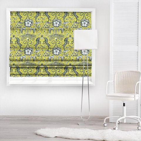 Kruger Lime Made To Measure Roman Blind