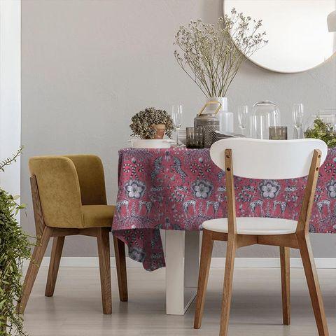 Kruger Magenta Tablecloth
