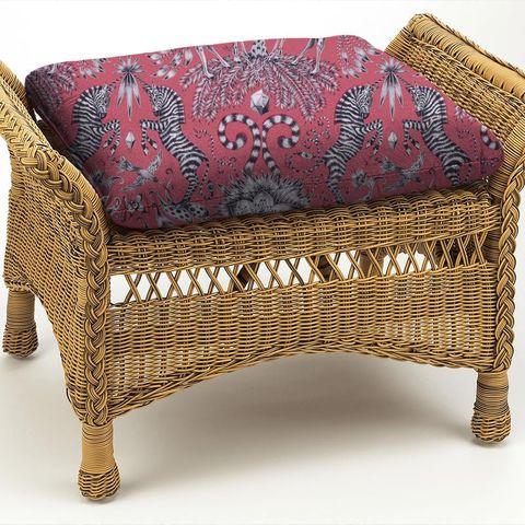 Kruger Magenta Box Cushion