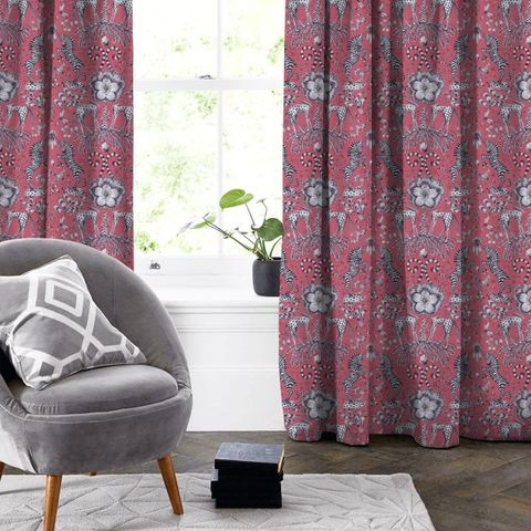 Kruger Magenta Made To Measure Curtain