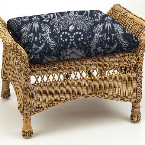 Kruger Navy Box Cushion