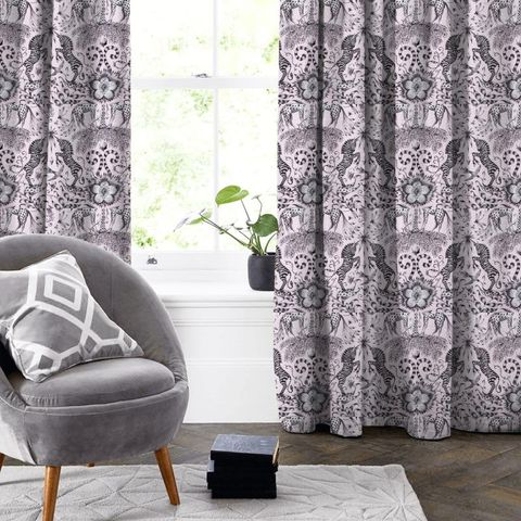 Kruger Pink Made To Measure Curtain