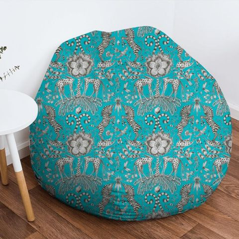 Kruger Teal Bean Bag