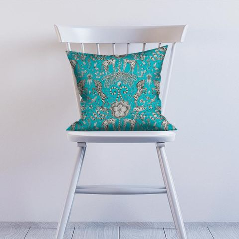 Kruger Teal Cushion