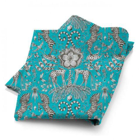 Kruger Teal Fabric