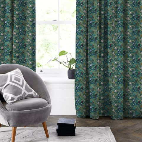 Rain Forest Lagoon Made To Measure Curtain
