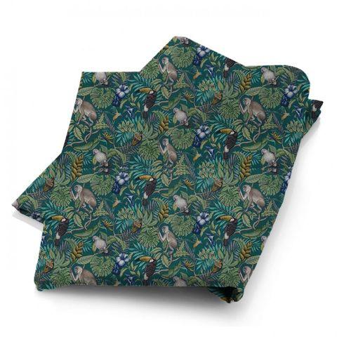 Rain Forest Lagoon Fabric