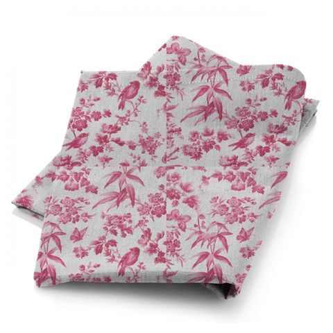 Amelia Raspberry Fabric