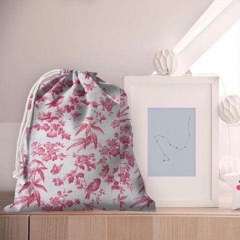 Amelia Raspberry Pyjama Bag