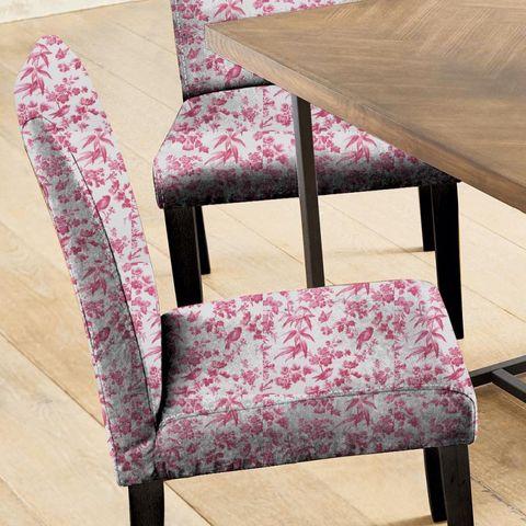 Amelia Raspberry Seat Pad Cover